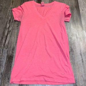 Victoria secret pink v neck short sleeve shirt